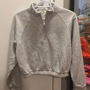 GARAGE HALF ZIP SWEATER